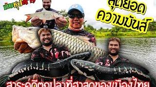 getlinkyoutube.com-ตกปลาชะโดยักษ์EPและปลากระสูบยักษ์เขื่อนธรรมชาติBY Yod911