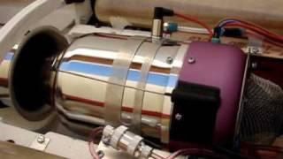 getlinkyoutube.com-JetCat Turbine Kero Start-up