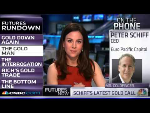 Peter Schiff: We're Headed To A Currency Crisis One Way Or Another - CNBC 4/1/2013
