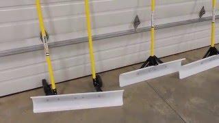 "getlinkyoutube.com-""THE SNOWPLOW"" Snow Shovel 48 inch & 36 inch overview comparison"