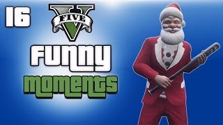 getlinkyoutube.com-GTA 5 Online Funny Moments Ep. 16 (Merry Christmas, DLC)