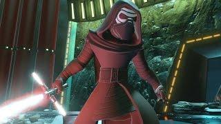 getlinkyoutube.com-Disney Infinity 3.0 - The Force Awakens Playset Walkthrough Finale - Kylo Ren Boss Fight