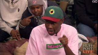 getlinkyoutube.com-Full Huff Post Interview | Tyler The Creator, Earl, Taco, Jasper and Lionel
