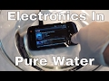 Is Everything Waterproof in Pure De-ionized Water? Charging Phone in Pure Water Test