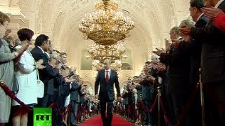 getlinkyoutube.com-Full Video: Vladimir Putin's presidential inauguration ceremony in Kremlin