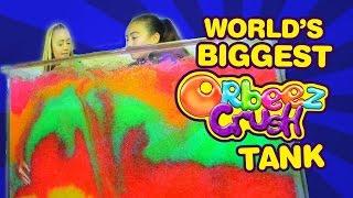 getlinkyoutube.com-The World's BIGGEST Orbeez Crush Tank Challenge   Official Orbeez