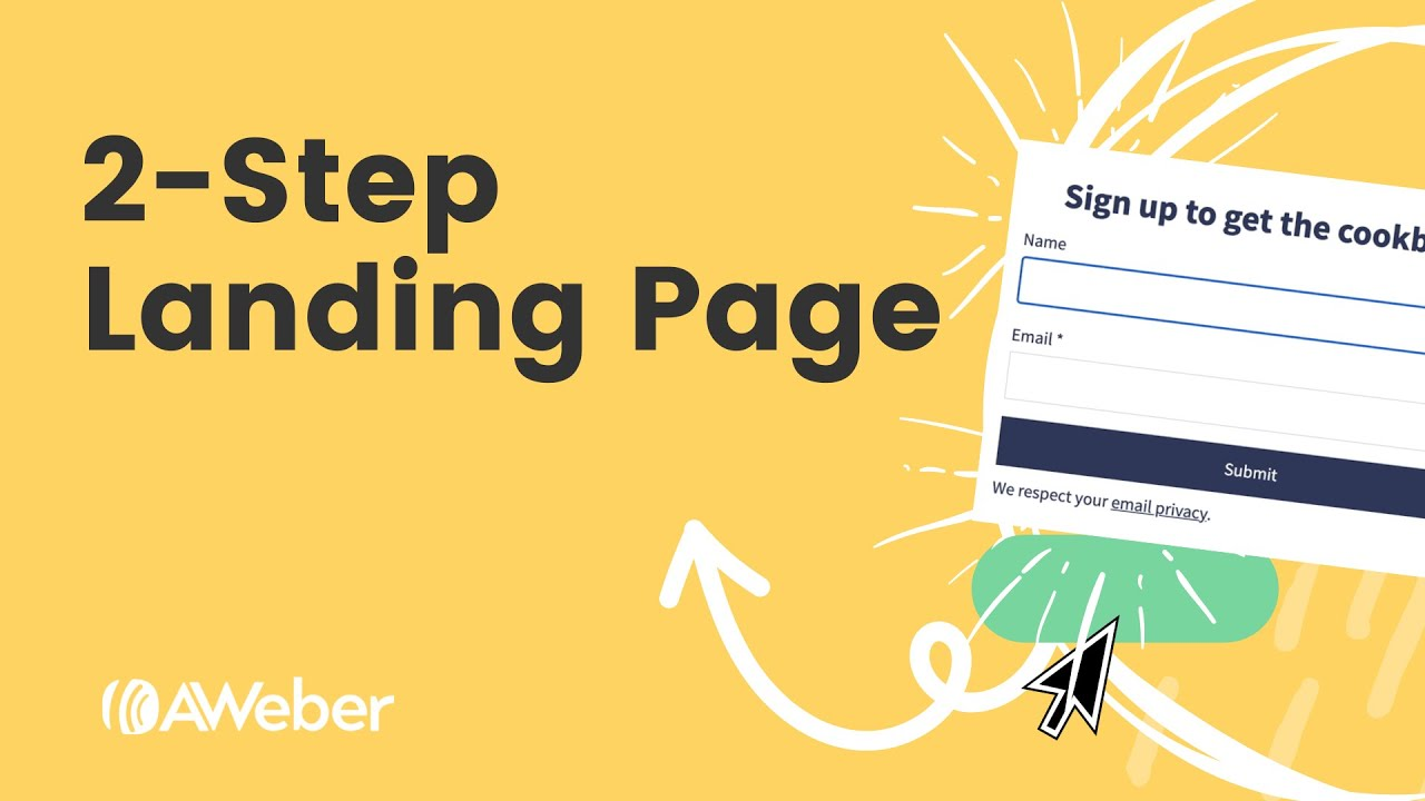 How to Create a 2-Step Landing Page