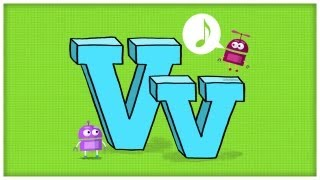 "ABC Song: The Letter V, ""Very V"" by StoryBots"