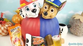 getlinkyoutube.com-Learn Colors Paw Patrol Play Doh Pumpkin Hello Kitty Molds Kids Fun Creative Rhymes for Toddlers