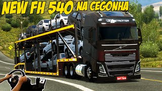 getlinkyoutube.com-NEW VOLVO FH 540 NA CEGONHA - MAPA EAA 4.0 - VOLANTE G27!!!