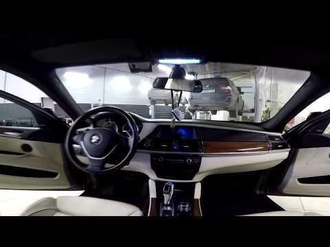 Дооснащение салоном BMW X6 в автосервисе'BMW LIVE