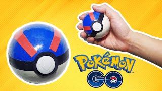getlinkyoutube.com-Pokémon GO - How to make a Pokeball (Great Ball) - tutorial