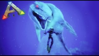 getlinkyoutube.com-UN NUEVO Y GIGANTESCO DINOSAURIO MARINO - ARK survival Evolved #39 - Nexxuz
