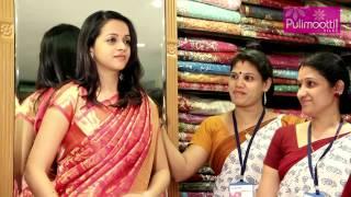 getlinkyoutube.com-Bhavana at Pulimoottil Silks