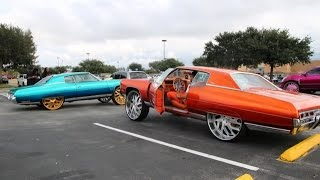 getlinkyoutube.com-WhipAddict: Orlando Classic Weekend; Kandy Paint, Forgiatos, Amani Forged, 30s, 34s, Custom Cars
