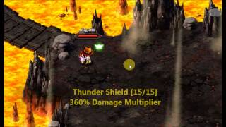 "getlinkyoutube.com-Zenonia S - Mage ""Amplified Thunder Shield"" [PvP Skill Test]"