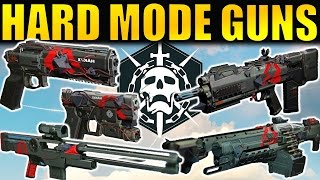 getlinkyoutube.com-Destiny: ALL Hard Mode Raid Weapons! | Gameplay & First Impressions | Wrath of the Machine