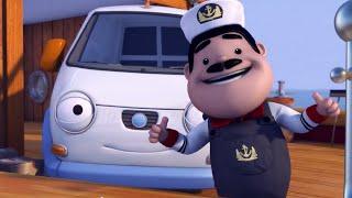 Олли Веселый грузовичок - Мультик про машинки - Олли - моряк! - Серия 64 (Full HD)