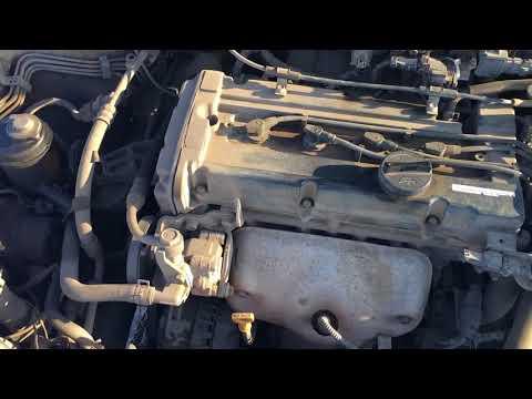 Hyundai Elantra видео работы двигателя 720p