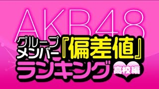 getlinkyoutube.com-最新版!AKB48グループメンバーの『偏差値』ランキング