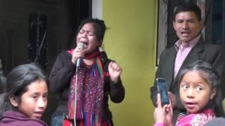 hna Ana Raymundo y con Agrupación Musical FUENTE DE VIDA ETERNA en salquil Grande culto de ogar