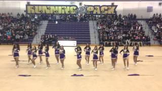 getlinkyoutube.com-2014-2015 Livingston High School Color Guard-Winter Sports Rally