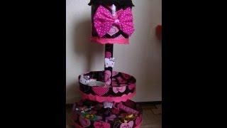 getlinkyoutube.com-Maualidades: Organizador circular de Hello Kitty- Juancarlos960