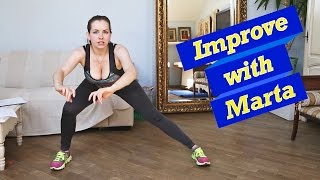 Squats and lunges - Improve with Marta