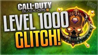 """INSTANT LEVEL 1000 GLITCH!"" - Black Ops 3 MASTER PRESTIGE GLITCH! (LEVEL 1000 XP GLITCH UNPATCHED)"