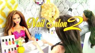getlinkyoutube.com-DIY - How to Make:  Doll Nail Salon 2:  Manicure Station - Handmade - Doll - Crafts