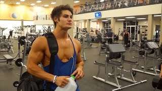getlinkyoutube.com-Full IFBB Pro Chest & Triceps Workout w/ Jeff Seid