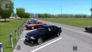 getlinkyoutube.com-BMW M3 Drifting City Car Driving 1.5 w/ logitech g27 (60 FPS)