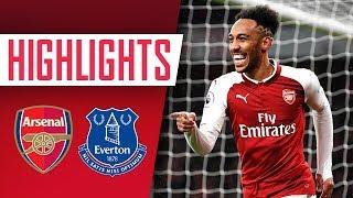 Aubameyang, Mkhitaryan & Ramsey on fire! | Arsenal 5 - 1 Everton | Goals and highlights
