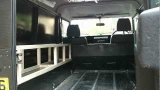 getlinkyoutube.com-Landrover conversion, fit-out, to Campervan