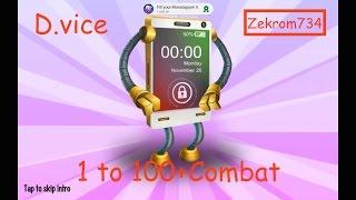 getlinkyoutube.com-Monster Legends, Monster, D.vice 1 to 100+Combat