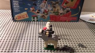 getlinkyoutube.com-Legoshowtv 2016 Advent Calender day 2