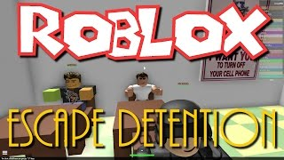 getlinkyoutube.com-Team SBG Plays Roblox : Escape Detention! (Family Multiplayer)