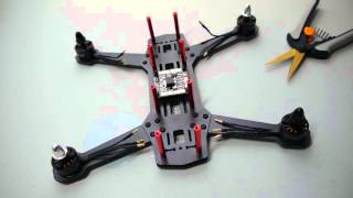 getlinkyoutube.com-Updated: How to build a Mini Quadcopter for FPV Racing By Mini Quad Bros