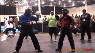 Tyrone Washington vs Larry Tankson at North American International Karate Championship 2012