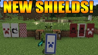 getlinkyoutube.com-★Minecraft 1.9 Update - NEW Shields snapshot: Custom Designs, New Combat System & FULL Tutorial★