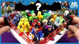 getlinkyoutube.com-Justice League Toys & Imaginext Batman Toys Shake Rumble & Unboxing | KIDCITY
