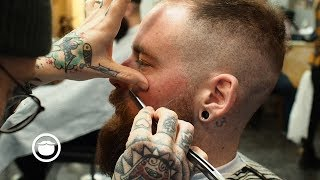 Master Barber Gives Advice on Thinning Hair with Haircut