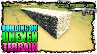 Ark:SE Building Tips || How I build on uneven terrain || TimmyCarbine