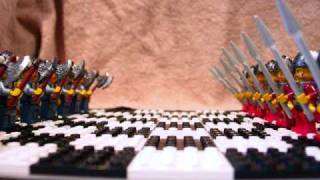 getlinkyoutube.com-Epic Viking  War ~ the Lego Chess Battle Movie