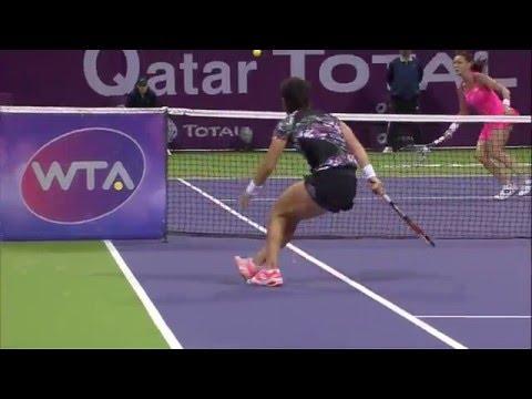 2016 Qatar Total Open Hot Shot   Carla Suarez Navarro