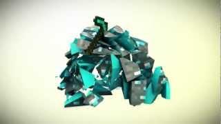 getlinkyoutube.com-FREE Minecraft Template Intro C4D & AE