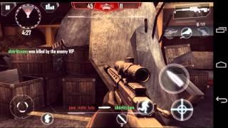 getlinkyoutube.com-Modern Combat 4- Partida de x6 com inscrito !!