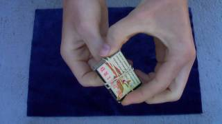 getlinkyoutube.com-Matchbox Penetration Magic Trick - Amazing!!!