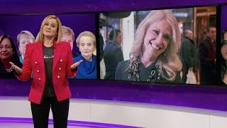 getlinkyoutube.com-The Great Feminists in Feminism Herstory Hall of Lady Fame | Full Frontal with Samantha Bee | TBS