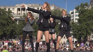 getlinkyoutube.com-K-Pop Band F(x) Make Their Debut As A Foursome at the London Korean Festival 2015 런던 한인 축제  Part 2